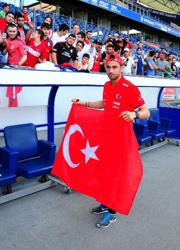 Türkiye: 3 - Letonya: 3 (Maç sonucu)