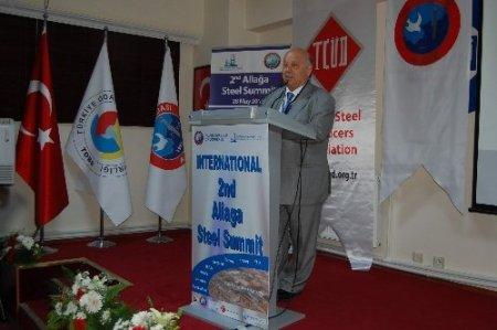 Türkiye demir çelik sektörü Aliağa'da buluştu