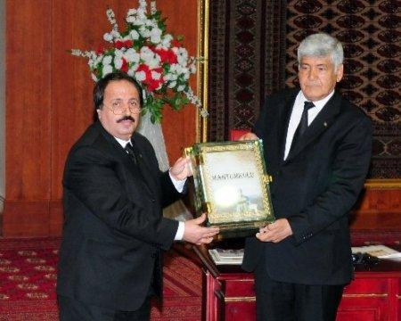 Türkiye-Türkmenistan dostluğuna önemli bir eser kazandırıldı