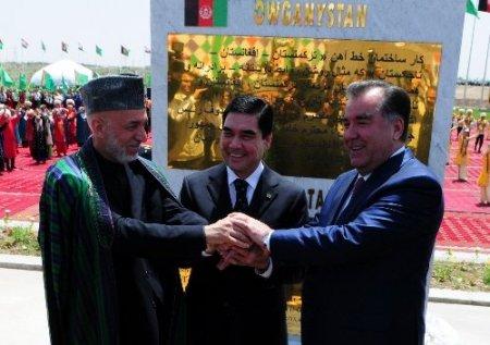 Türkmenistan-Afganistan-Tacikistan demiryolunun temeli atıldı