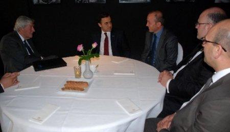 TUSKON Başkanı Rızanur Meral Eski Başbakan Lubbers ile bir araya geldi