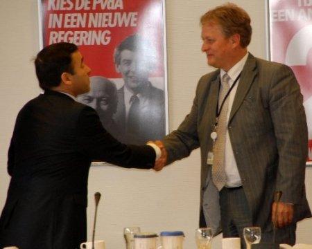 TUSKON Başkanı Rızanur Meral Hollanda Meclisi'nde