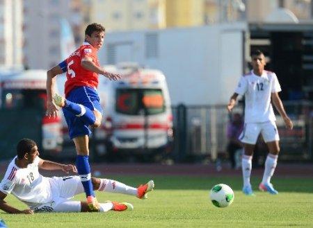U-20'de Şili, Mısır'ı 2-1 yendi