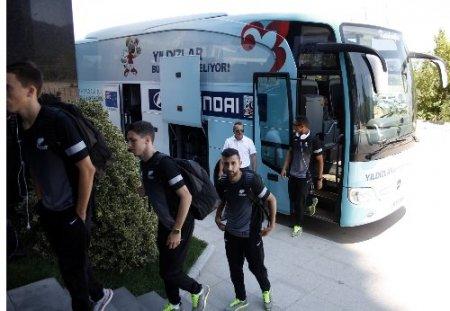U20 takımları Bursa'ya gelmeye başladı