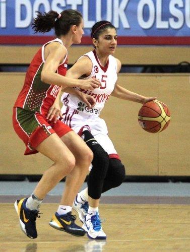 Ümit Kız Milli Takımı, Belarus'u 75-53 mağlup etti