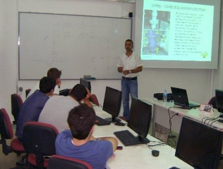 Üniversite öğrencileri Bursagaz'da eğitim aldı