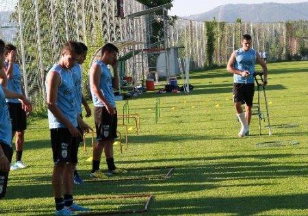 Uruguay U20 Milli Takımı hazırlıklarını sürdürdü