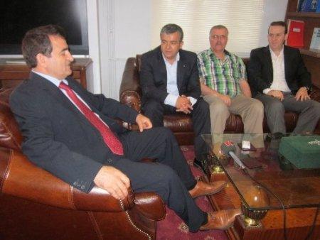 ÜTB yönetimi, Kaymakam Demir'i ziyaret etti