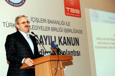 Vali Karaloğlu: 6380 Sayılı Yasa, son dönemde yapılmış en önemli idari reform