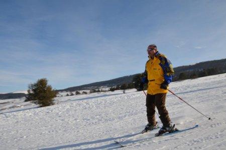 Vali'nin kayak keyfi