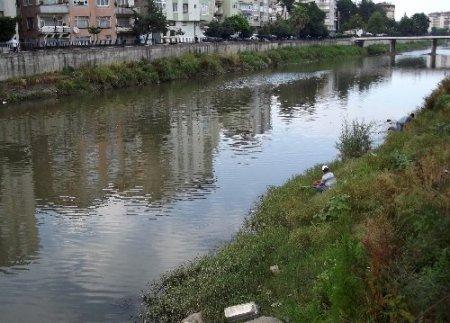 Vatandaş Terme Çayı'nın ıslahı için yetkililerden çözüm bekliyor