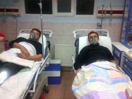 Yangına müdahale eden 4 itfaiyeci hastanelik oldu