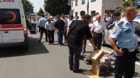 Yaşlı adam kazada yaralandı, meraklı vatandaş polisle tartıştı