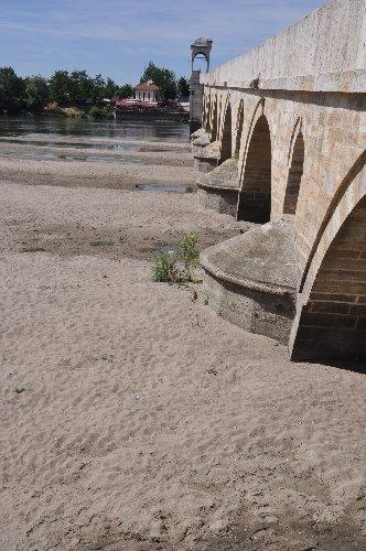 Yatağına sığmayan Meriç Nehri susuz kaldı