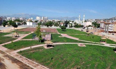 Yeni Emek Parkı tamamlandı