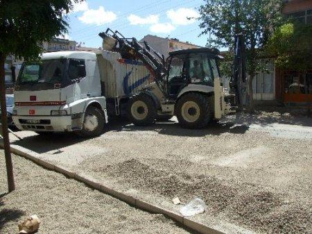Yerköy'de yol ve kaldırım çalışmaları yıl sonuna kadar tamamlanacak