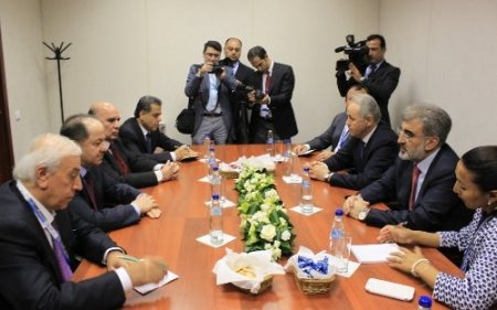 Yıldız, Barzani ile görüştü; Irak'ın normalleşmesine katkımız devam edecek