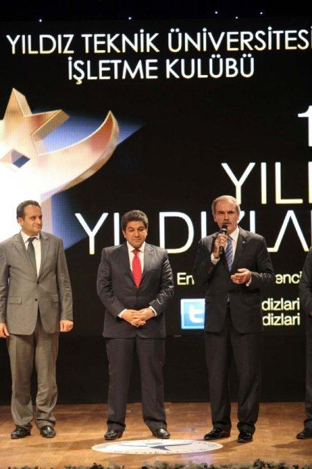 Yıldız Teknik'ten, Başkan Altepe'ye, 'Yılın Yıldızı' ödülü