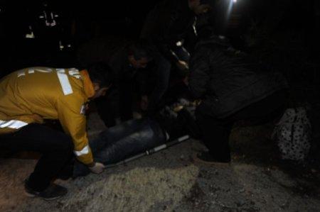 Yolcu minibüsü kaza yaptı: 18 yaralı