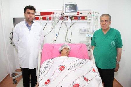 Yozgat'ta ilk defa açık kalp ve akciğer kist hidatiği ameliyatı yapıldı