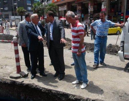 Zonguldak'ta doğal gaz çalışmaları devam ediyor