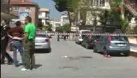 Polis yakaladığı şüpheliyi başından vurdu