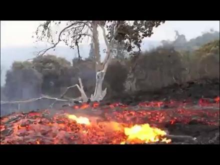 Volkanik Lav Nehri