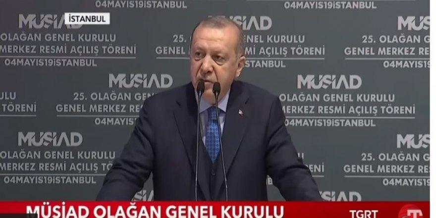 Erdoğan: Vatandaşım bana şunu söylüyor; Başkanım bu seçim yenilenmeli