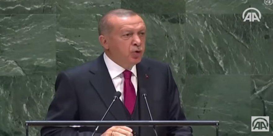 """""""Cumhurbaşkanı Erdoğan'ın BM'deki tarihi konuşması"""""""