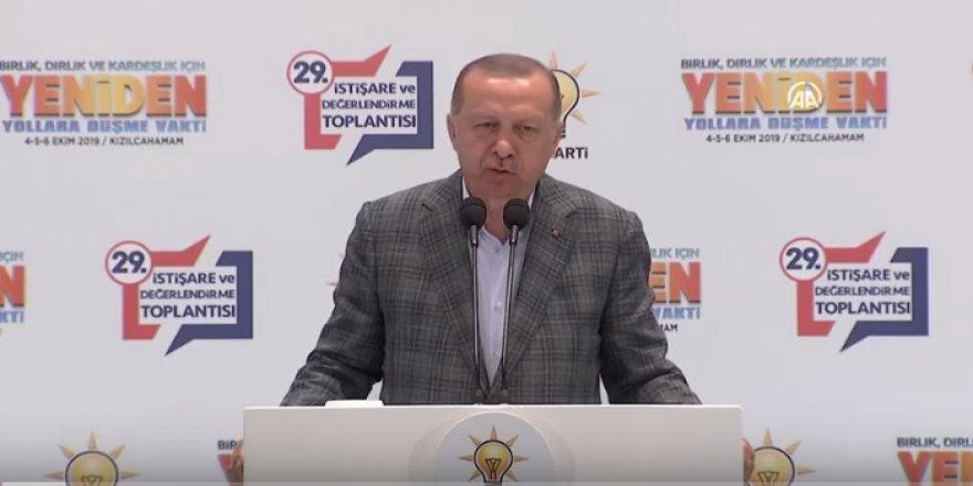 Erdoğan: AK Parti, milletimizin tek umudu olma vasfını koruyor!