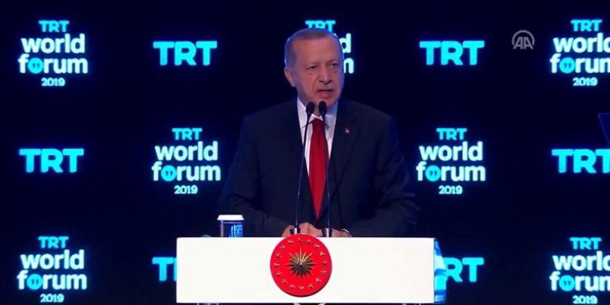 Erdoğan: Bize düşen yeni hedefler koyarak yola devam etmektir