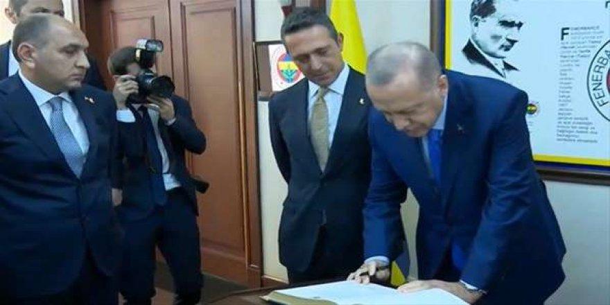 Erdoğan, Fenerbahçe Yüksek Divan Kurulu Olağan Toplantısına katıldı!