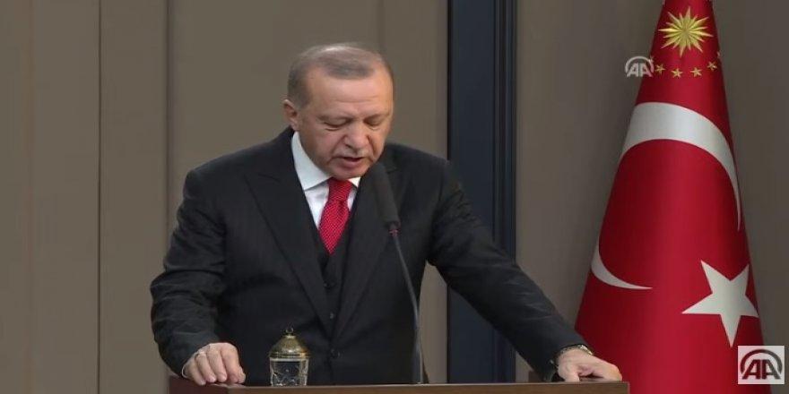 Cumhurbaşkanı Erdoğan'dan UEFA'ya TEPKİ