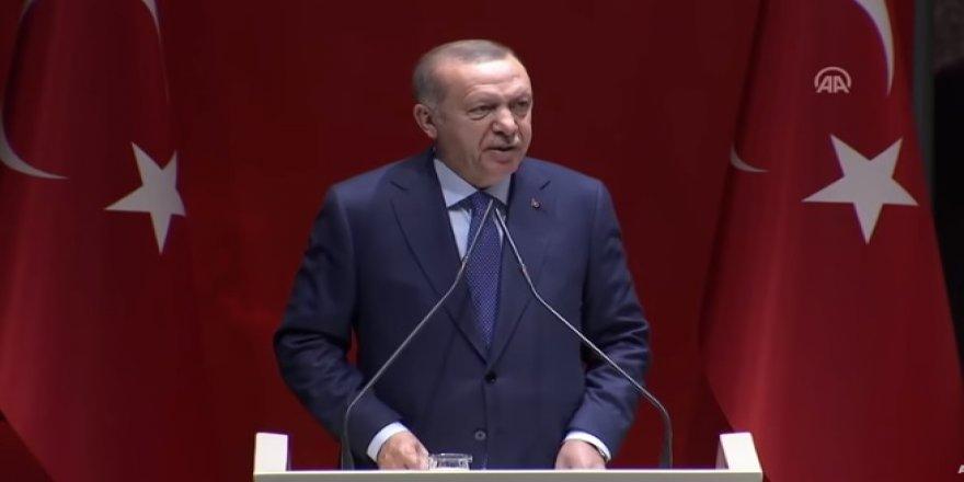 Erdoğan: Bunların edepsizlikleri karşısında artık susmak diye bir şey yok