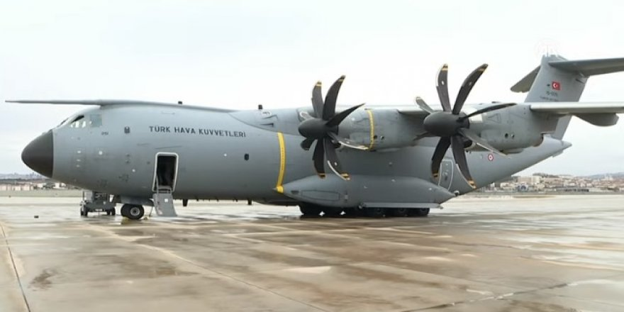 Ambulans uçak Çin'e hareket etti