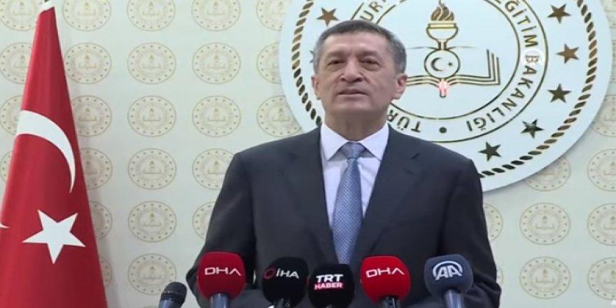Milli Eğitim Bakanı Selçuk'tan yüz yüze eğitime ilişkin açıklama